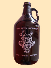 The Iron Monkey Growler